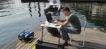 Primeras pruebas con el dron acuático
