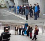 Los alumnos de los grados de Ingeniería de la Energía Visitan iSare