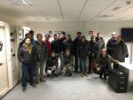 Visita de los alumnos del CIFP BIDASOA LHII a iSare